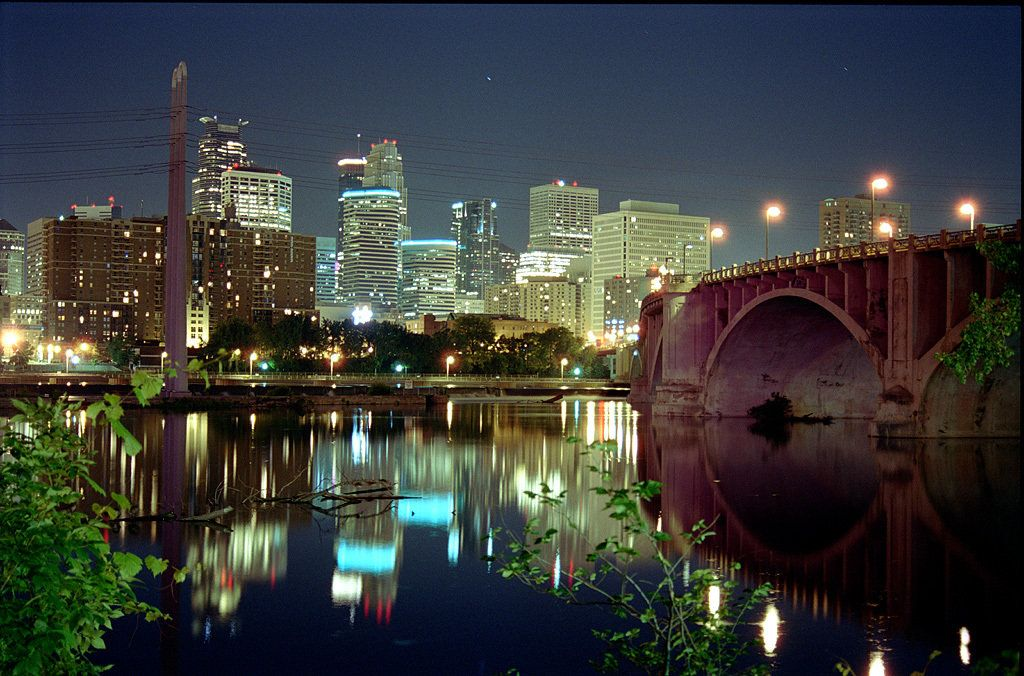 Pictures Of Minnesota Night View Photo Picture Image