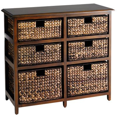 Jolie Double Chest - Brown | For the Home | Pinterest | Mimbre ...