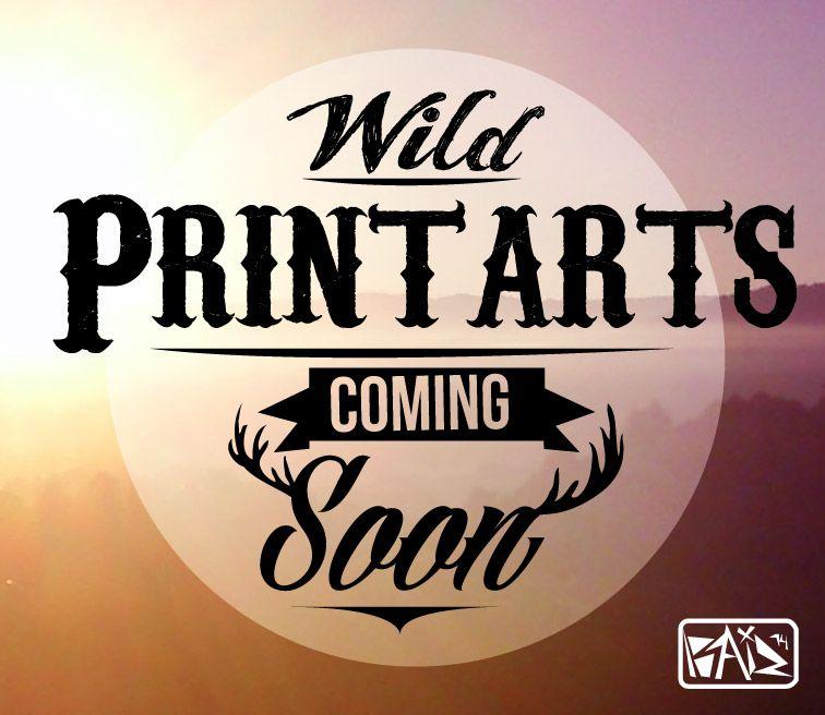 hice este diseño para promocionar mis print arts!