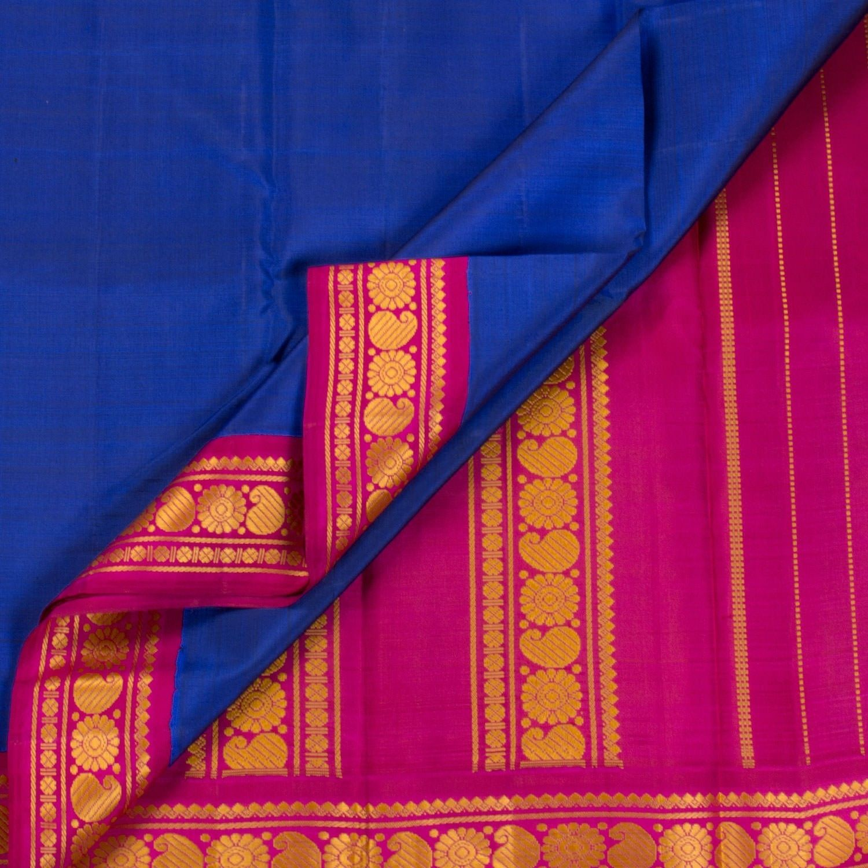 Kanakavalli Handwoven Kanjivaram Silk Sari 1011411 - Sari / All Saris - Parisera