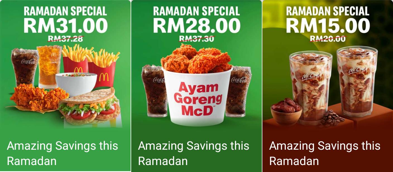 Mcdonald S Ramadan Special Promotion Valid Until 20 May 2020 Mcdonalds Ramadan Special Promotion