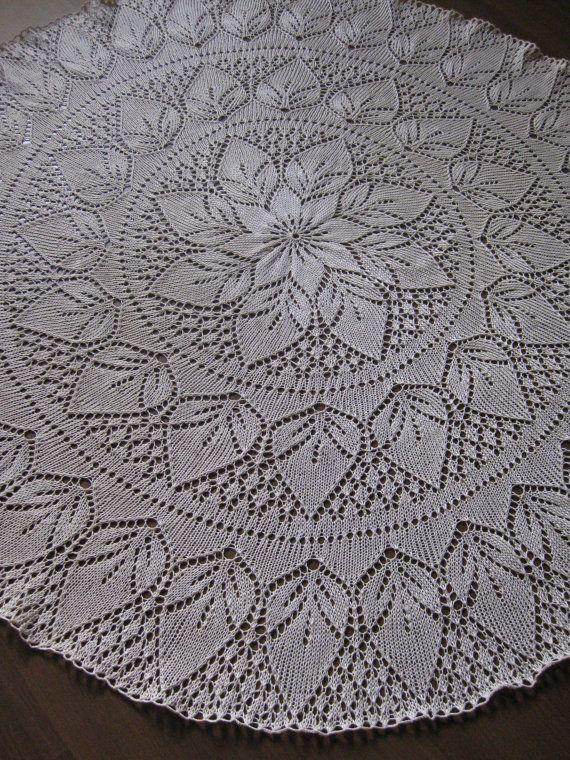 Knitted Lace Tablecloth Patterns Viewkaka