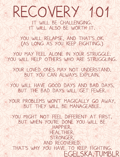 Pin by K B on Personal Development | Recovery quotes, Anorexia