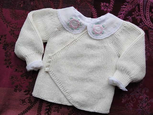 Juliana\'s Baby Sweater pattern by Andrea Wong | Bebé, Tejido y ...