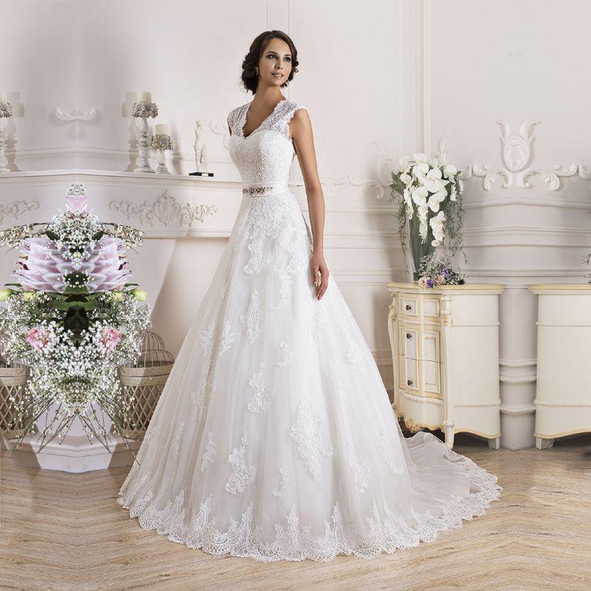 Günstige Vestido de noiva sexy 2015 Romantische Braut Kleid Elegante ...