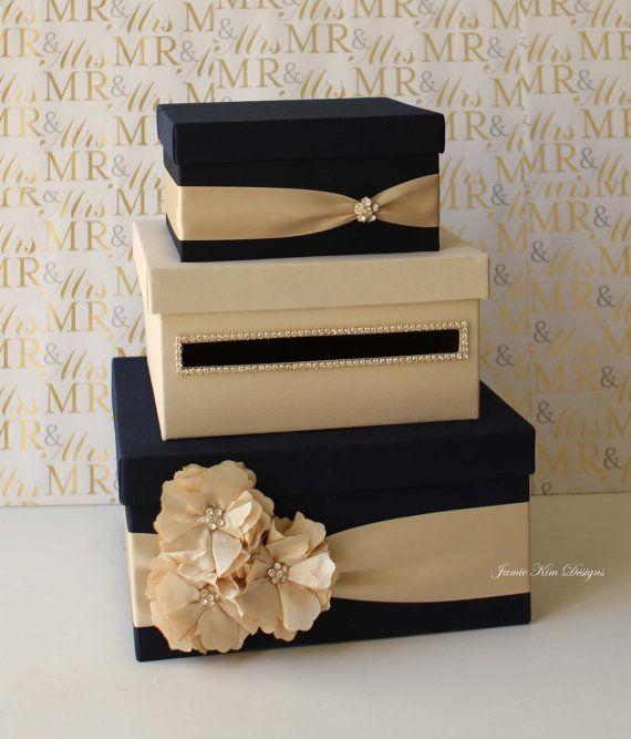 Wedding Card Box Money Box Gift Card Holder By Jamiekimdesigns 128 00 Card Box Wedding Card Box Wedding Diy Diy Card Box