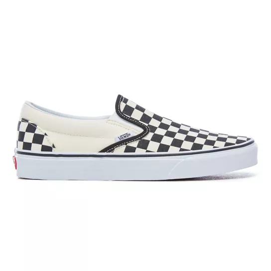 Checkerboard Classic Slip-On Shoes
