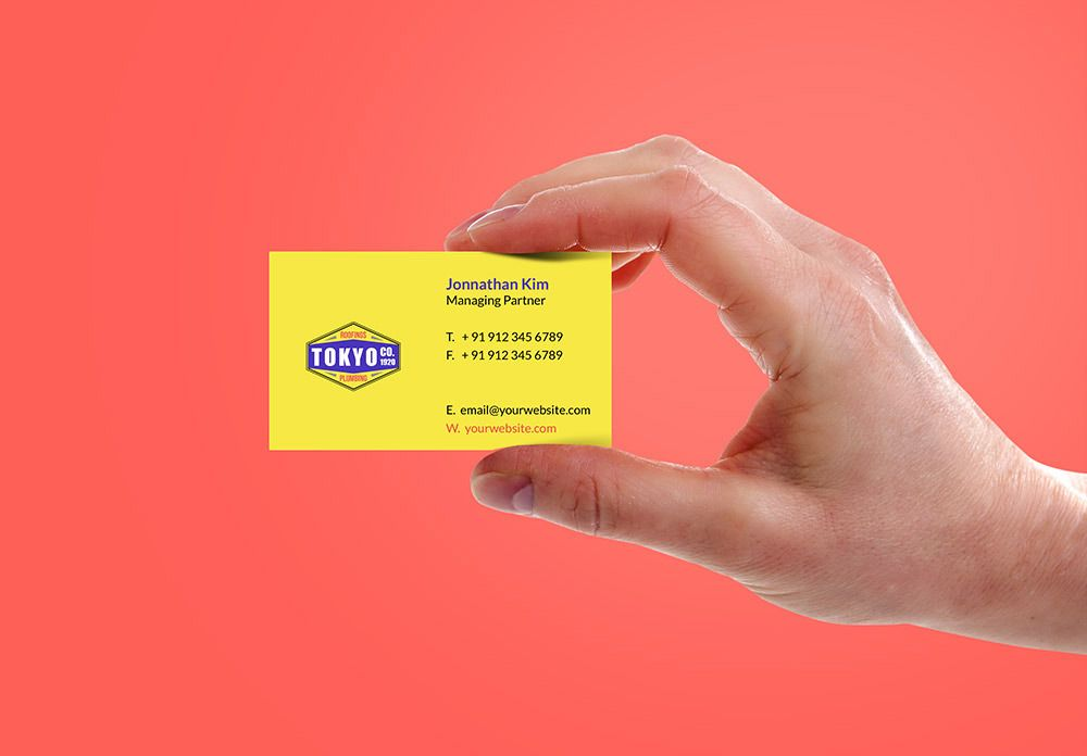 Pin by Css Author on Free Business Card Mockup PSD | Pinterest ...