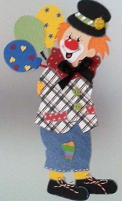 Fensterbild Clown Mit Luftballons Fasching Karneval Dekoration
