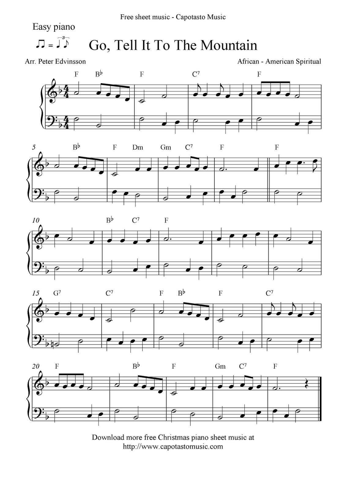 free printable piano sheet music free sheet music scores easy free christmas piano sheet music notes - Free Christmas Piano Sheet Music