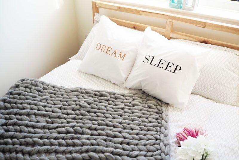 DIY Quote Cushions | Bella Coco