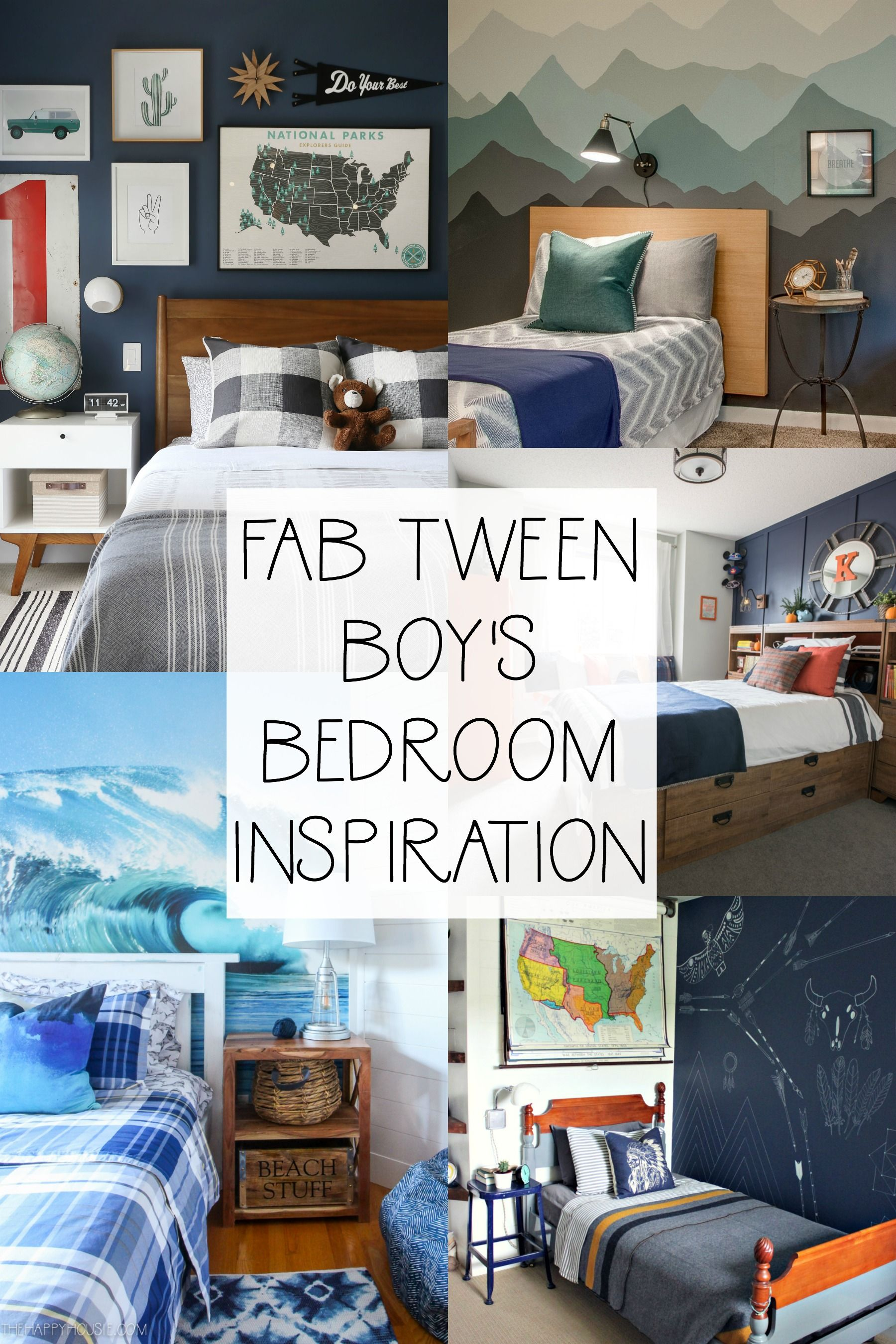 Tween Boy Bedroom Makeover Ideas The Before Plans The Happy Housie In 2020 Tween Boy Bedroom Boys Bedroom Makeover Boys Bedrooms