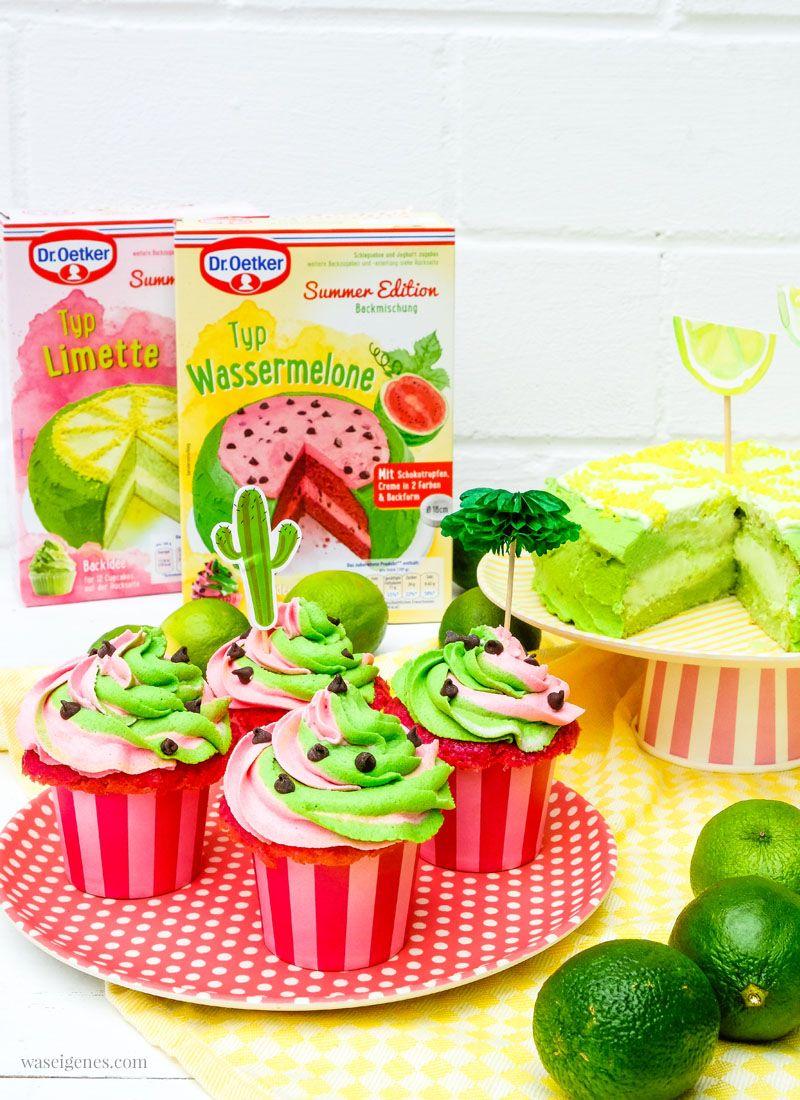 Limetten Tortchen Wassermelonen Cupcakes Ein Giveaway Fur Euch Wassermelone Cupcakes Limetten Wassermelone