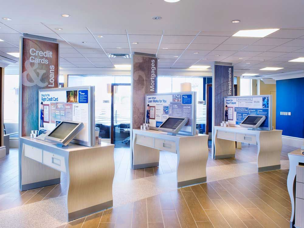 "rbc royal bank interiors | ... banking ""touchdown space,"" and ..."