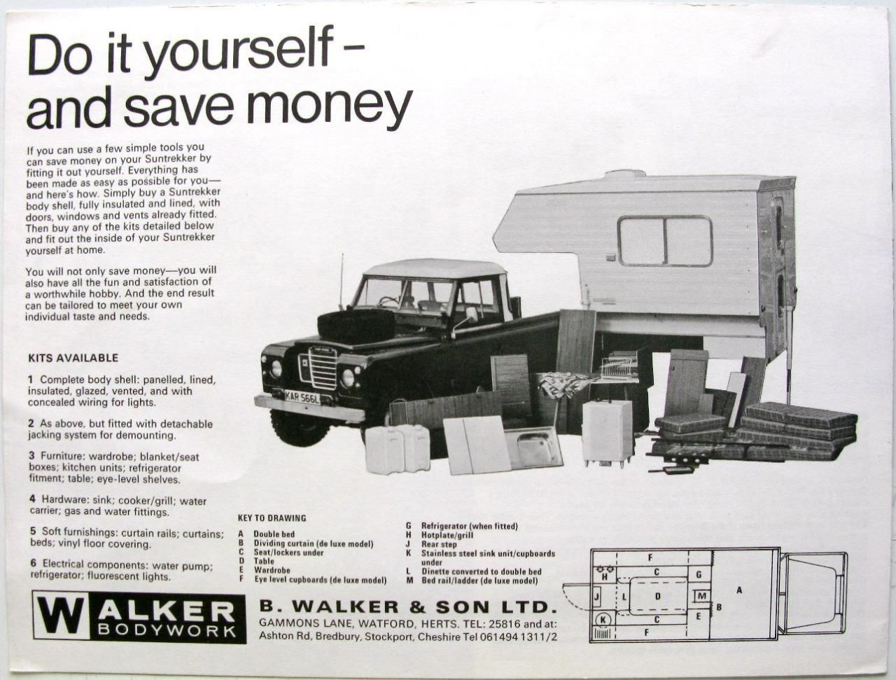 LAND ROVER SERIES-III /'88/' RETRO POSTER BROCHURE CLASSIC ADVERT A3