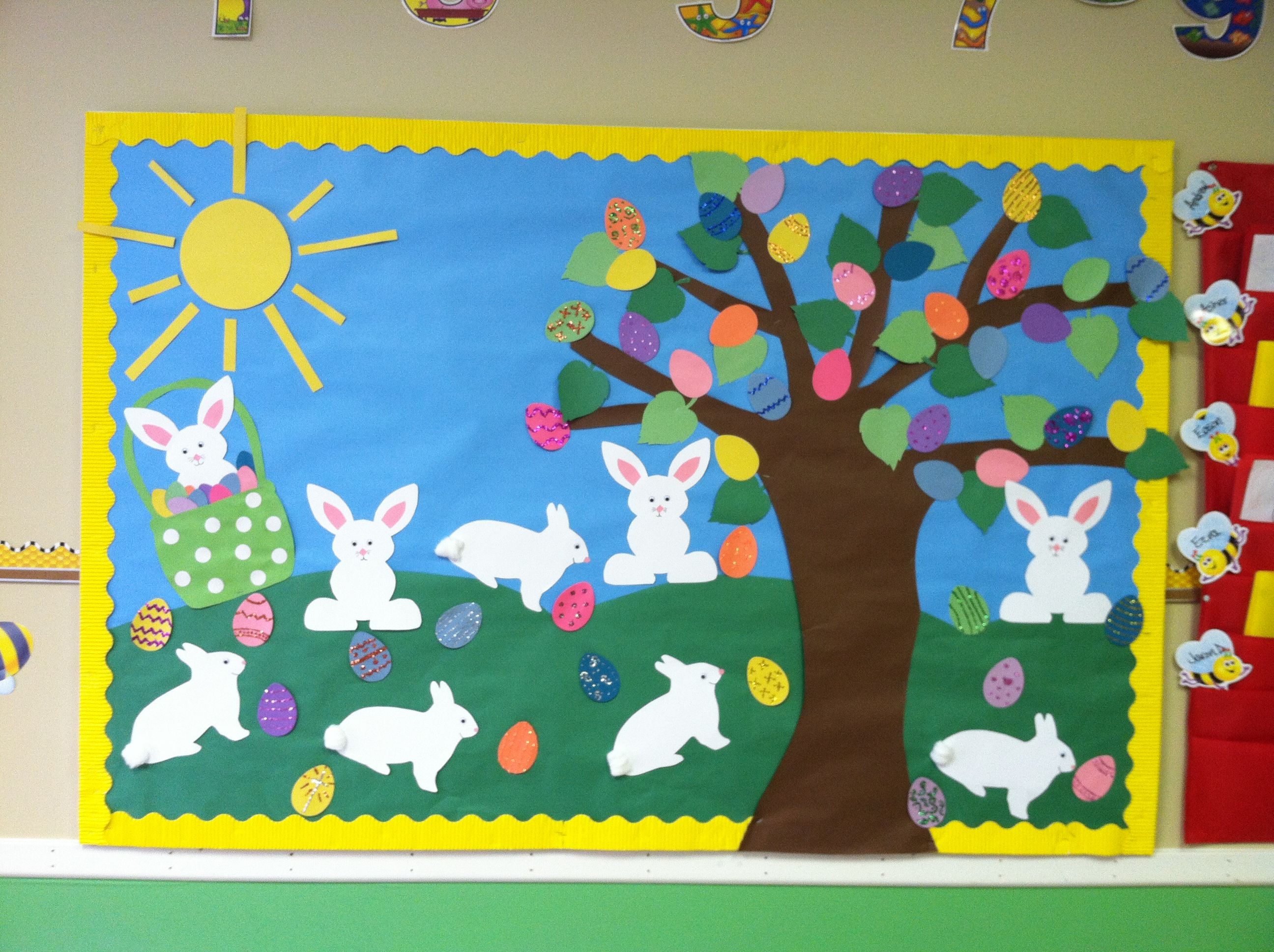 Classroom Board Decoration For Preschool : Easter bulletin board ideas and