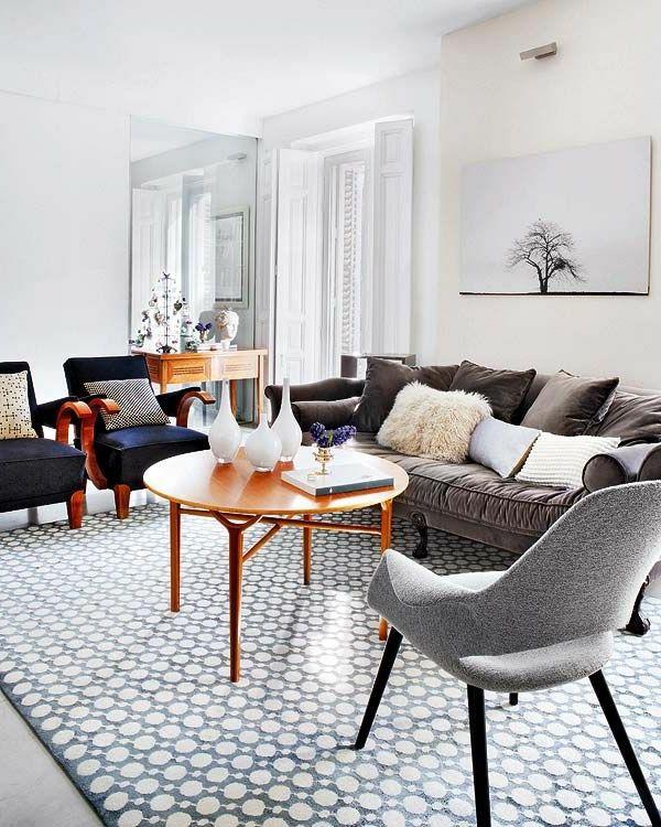retro mobel wohnzimmer | haus design ideen. vintage einrichtung ... - Wohnzimmer Retro Stil