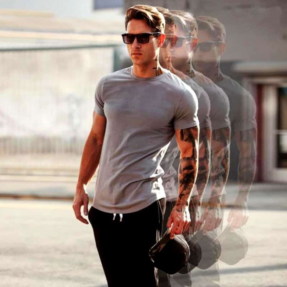 #Fit #Fitness #Mens #Shirt #Slim #SPORTS Slim Fit Men's Sports