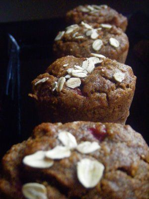 Erin's Food Files » Strawberry Banana Whole Wheat Muffins