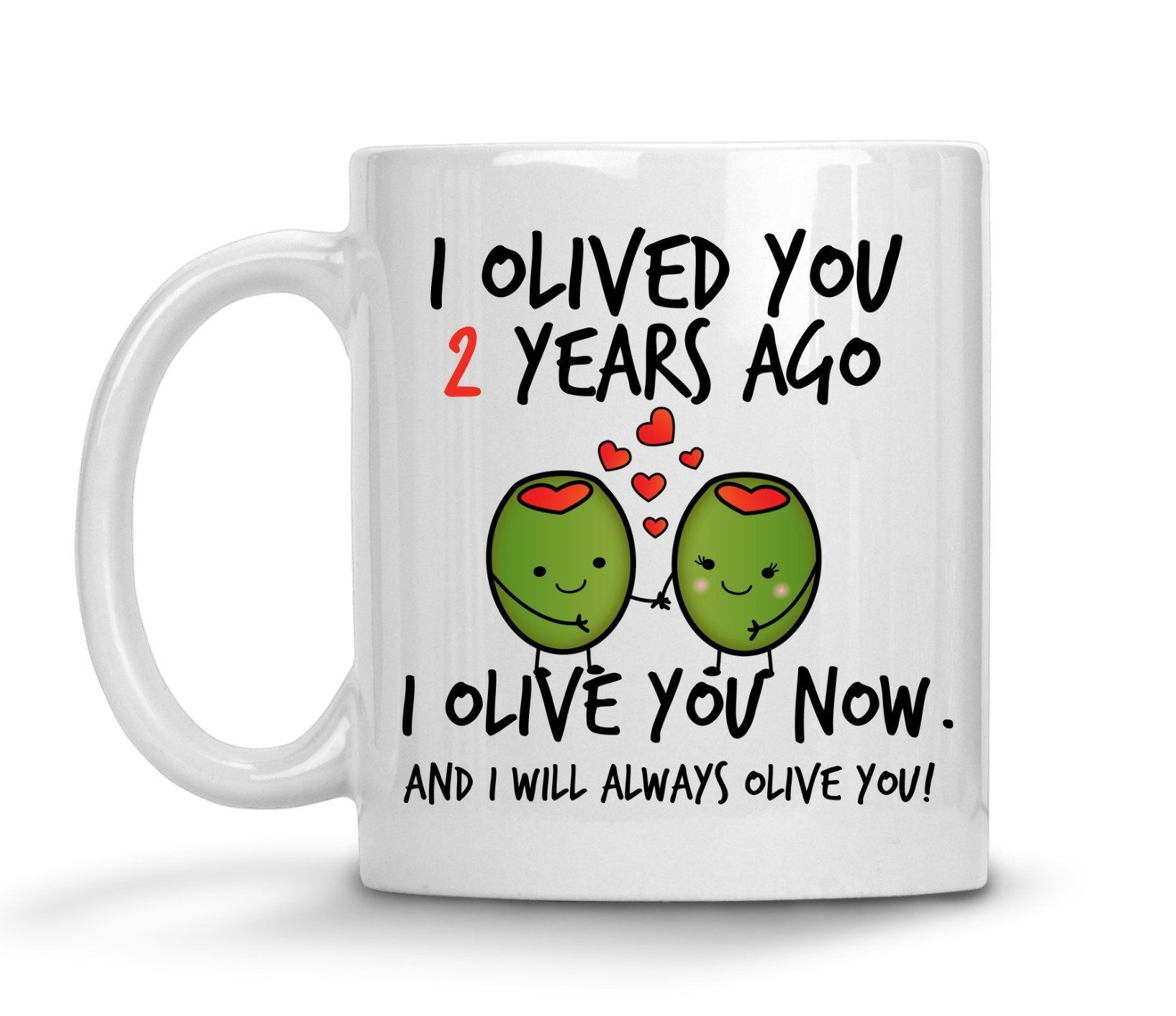 2nd Wedding Anniversary Gift For Him Personalized