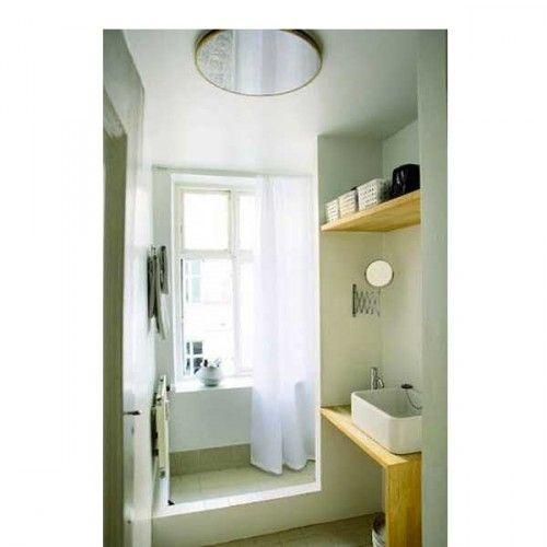 15 petites salles de bains pleines d 39 id es d co salle de for Fenetre dans douche