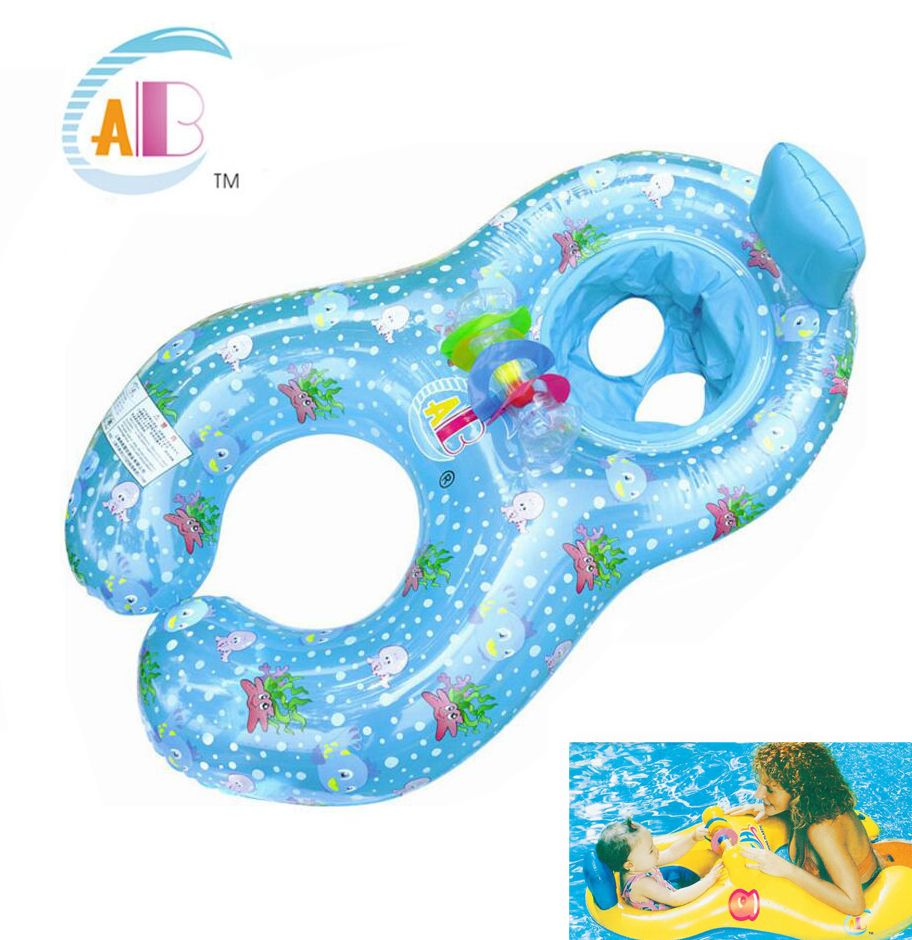 Baby Seat Float Ring Newborn Swim Trainer Mother And Child Swimming ...