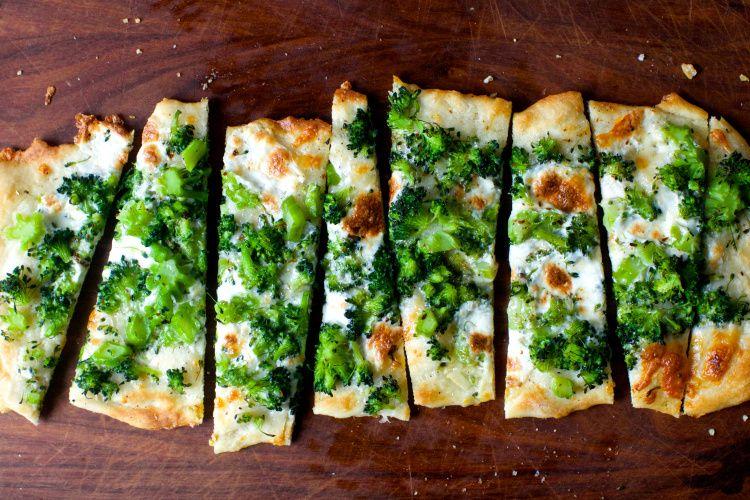 Broccoli Pizza Recipe In 2019 Broccoli Pizza Smitten