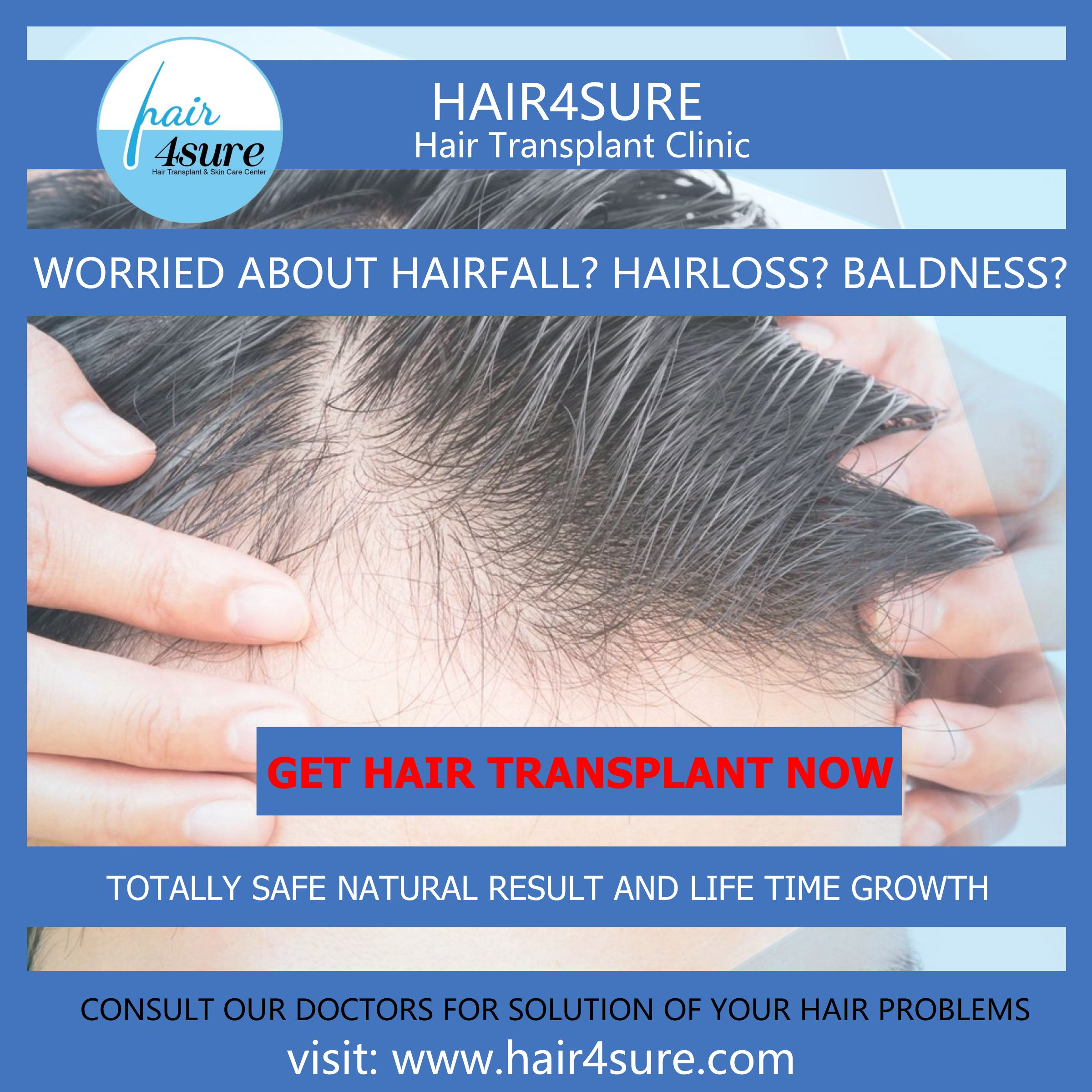 With Hair4sure Restore Your Hair In 2020 Hair Transplant Your Hair Hair Problems