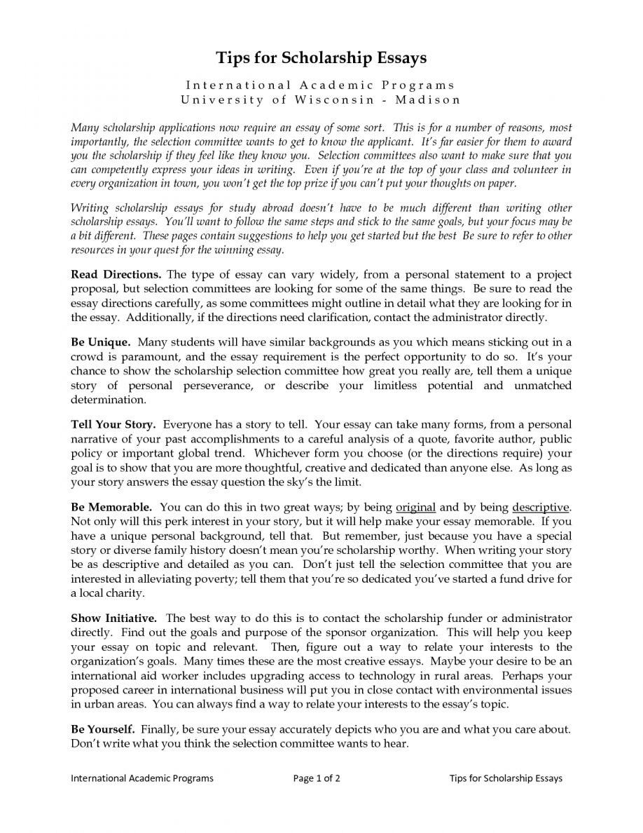 Pin by Darcee Lebrun on Scholarship essay  8 word essay, Essay
