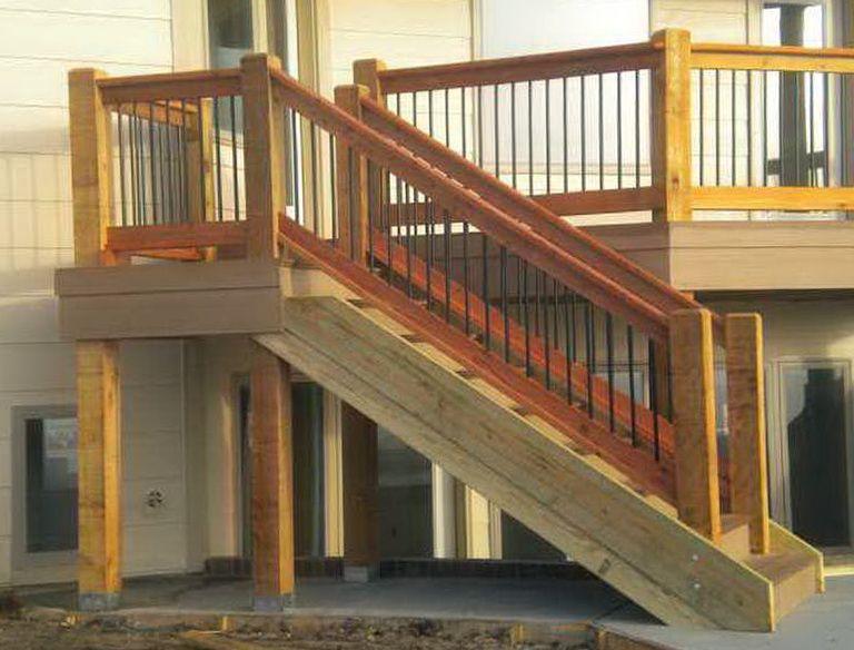 Deck Stairs, Stair Railing, Railings, Decking, Stair Banister, Patio Decks,  Banisters, Deck Steps