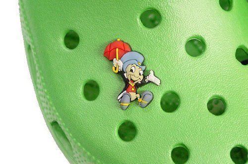Disney/'s Jiminy Cricket JIBBITZ Shoe Charm for Crocs Clogs Bracelet LOOK