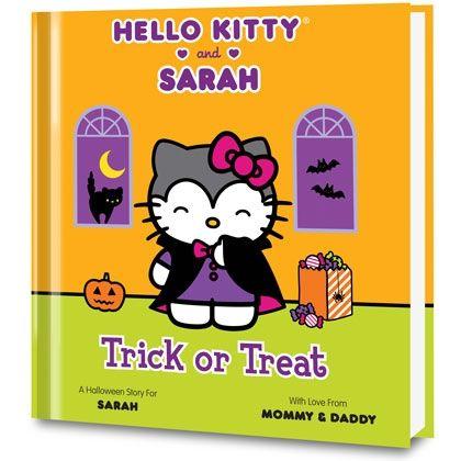 Hello Kitty Halloween Book