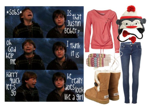 """""""He Hasnt Seen Me Crazy Yet ;)"""" by teddynatnatw ❤ liked on Polyvore featuring Zalando and UGG Australia"""