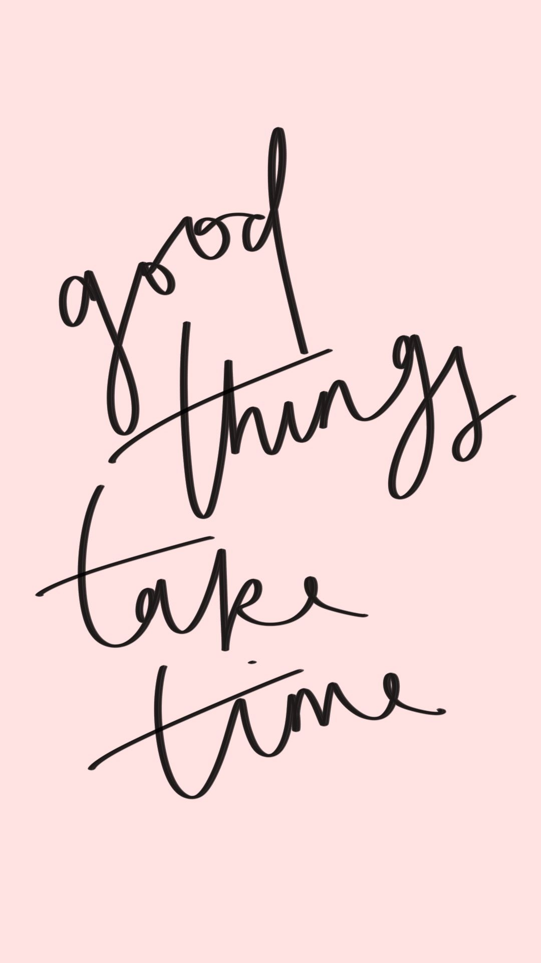 Inspirational Quote Good Things Take Time Quotes
