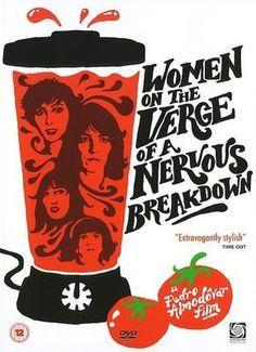 """Women on the Verge of a Nervous Breakdown"" (1988) -- Carmen Maura, Antonio Banderas, Julieta Serrano. Director: Pedro Almodóvar. IMDB: 7.6 +"