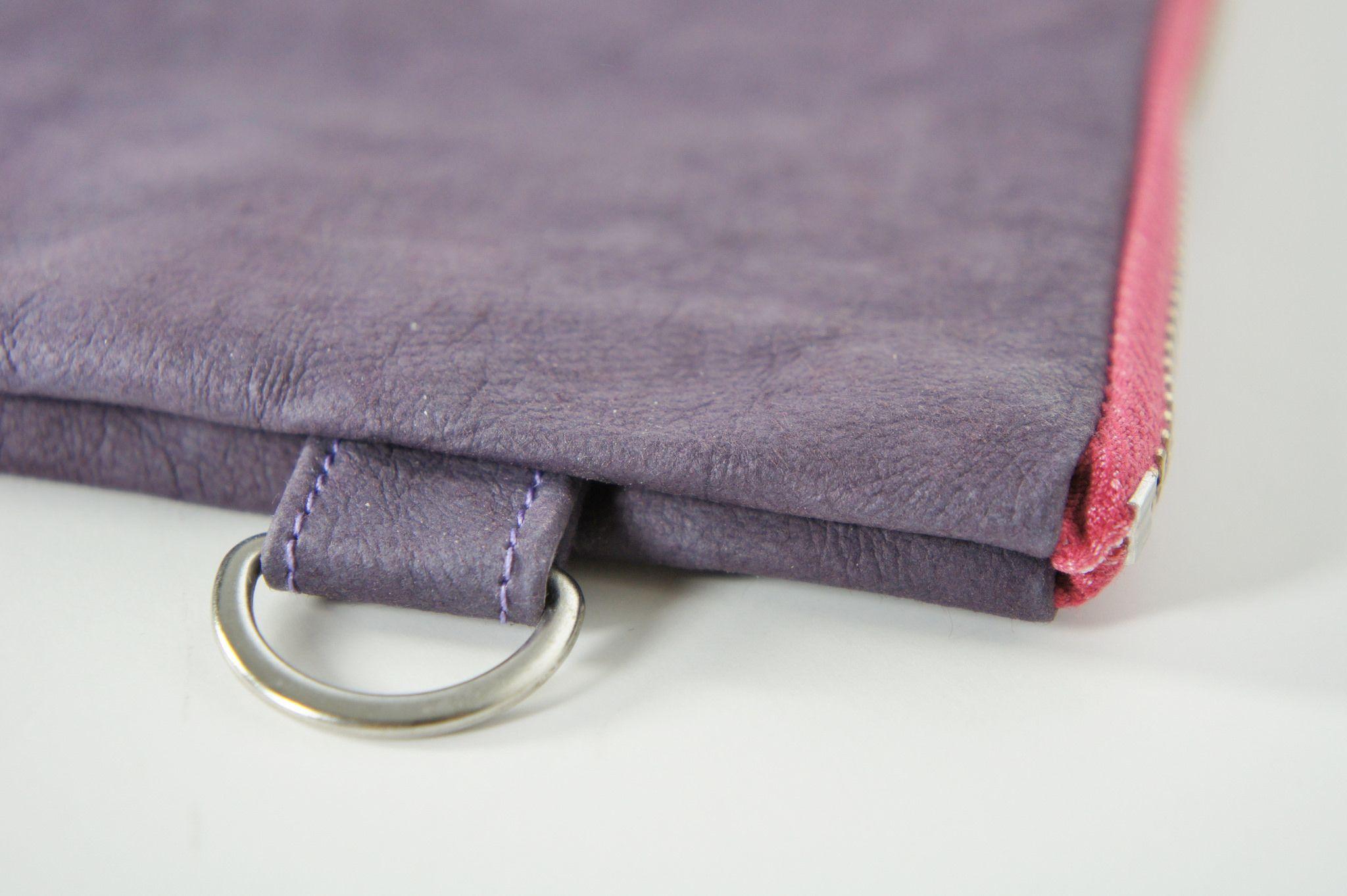 "https://flic.kr/p/vjdWh5 | SOAKcouture Kraft paper fabric clutch | SONY <a href=""http://www.SOAKcouture.etsy.comSC"" rel=""nofollow"">www.SOAKcouture.etsy.comSC</a>      D-Ring detail, YKK Zipper"
