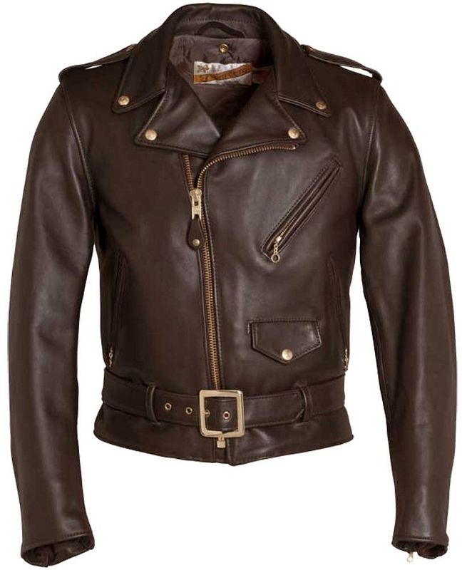 Schott Nyc Mens 618 Steerhide Perfecto Motorcycle Jacket Jackets