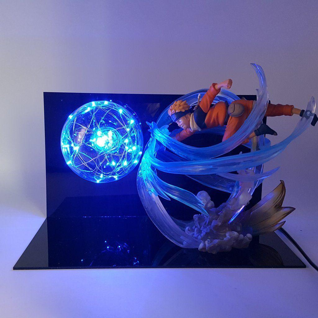 Naruto Uzumaki Naruto Rasengan Figure State Diy Lamp Anime