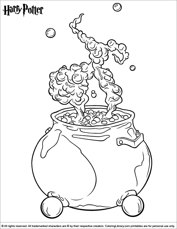 Harry Potter coloring page | Wizard\'s Chess | Pinterest | Páginas ...