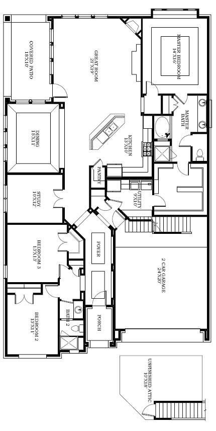 Finally A Plan That Connects The Master Closet And Laundry Room House Floor Plans Build My Own House Floor Plans