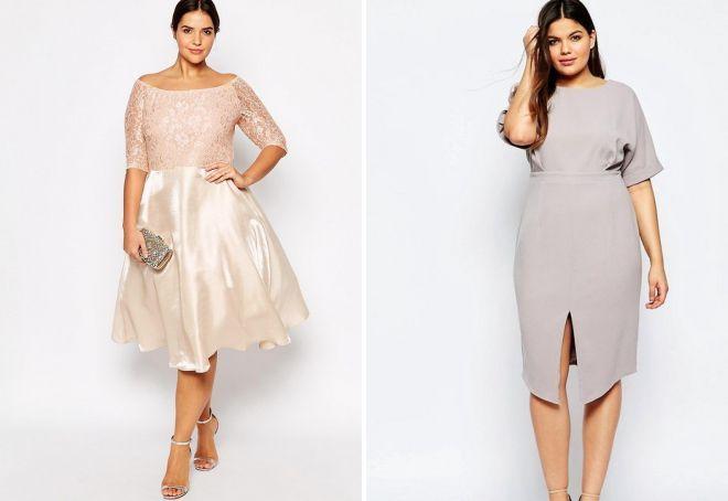 90fdef12c0b красивые модные платья для полных женщин