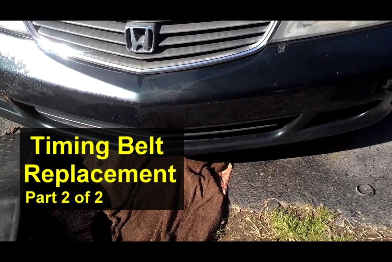 When Does Timing Belt Need To Be Replaced On Honda Odyssey