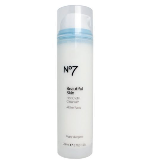 No7 Beautiful Skin Hot Cloth Cleanser Boots No7 Beautiful Skin No7 Best Natural Skin Care