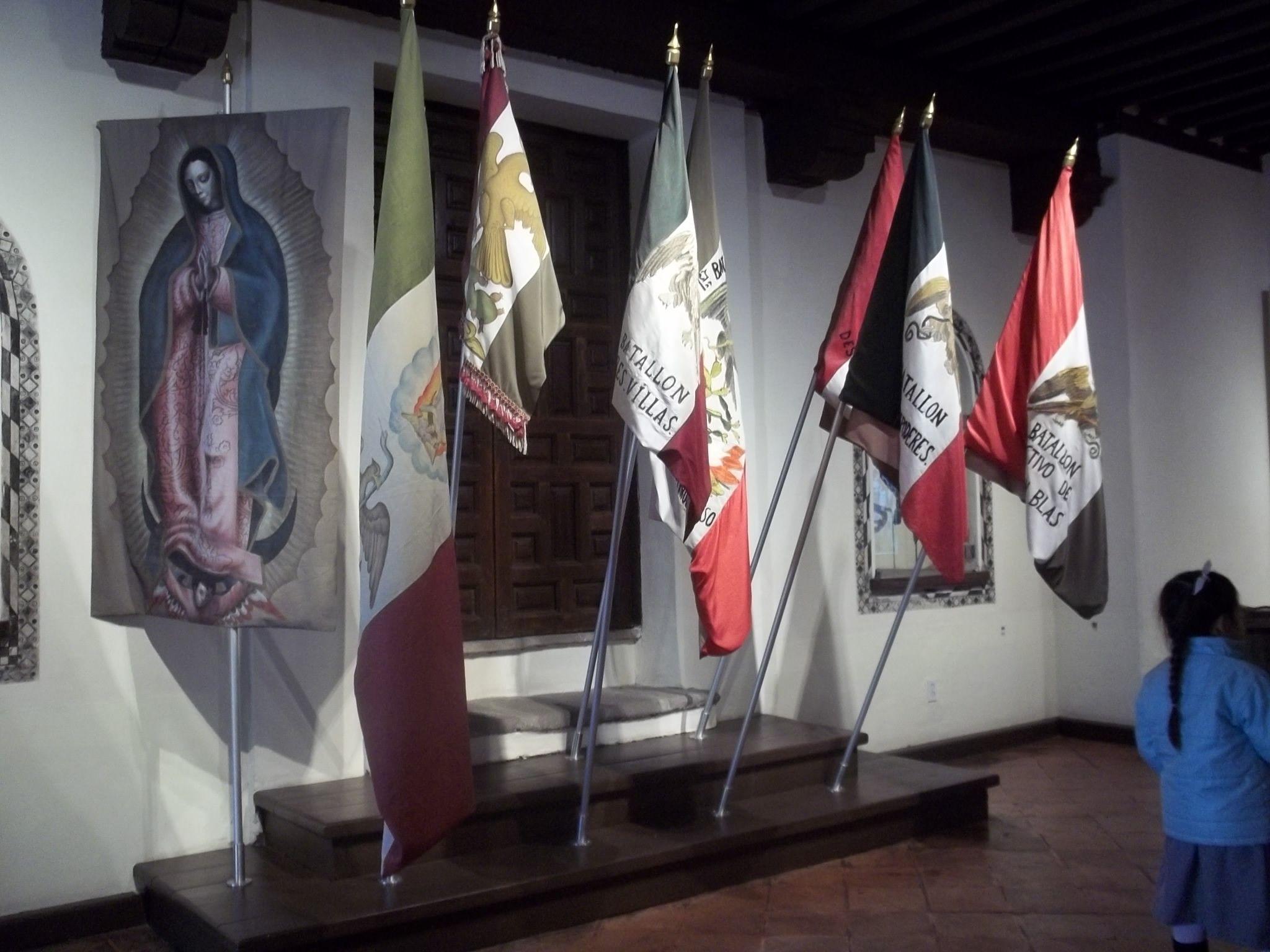 Museo de las Intervenciones    Historia de las Banderas de México