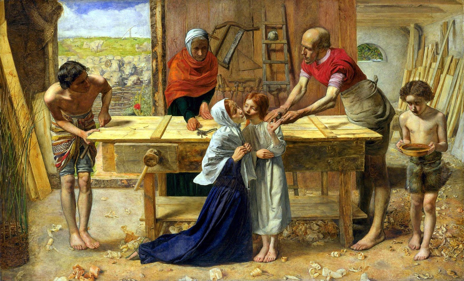 John Everett Millais, Christ in the House of his Parents
