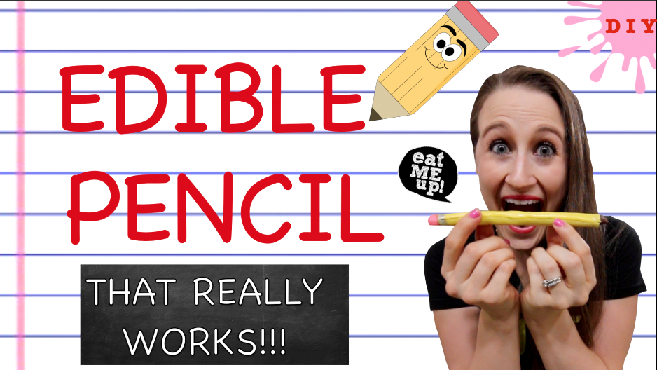 Nothing is more fun for back to school than edible school supplies! Learn how to make an edible pencil that really works! It really likes and is safe and delicious! This back to school treat is fun and easy to make for kids! Happy crafting!
