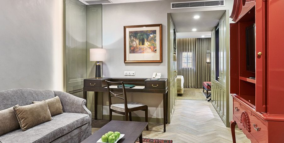 Heritage Rooms Infusing Modernity With Neo Classical Charm Are