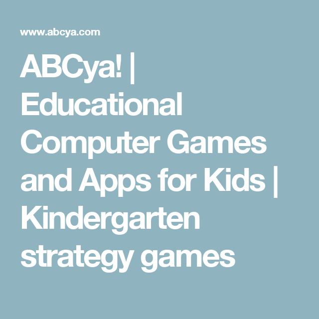 ABCya! | Educational Computer Games and Apps for Kids | Kindergarten