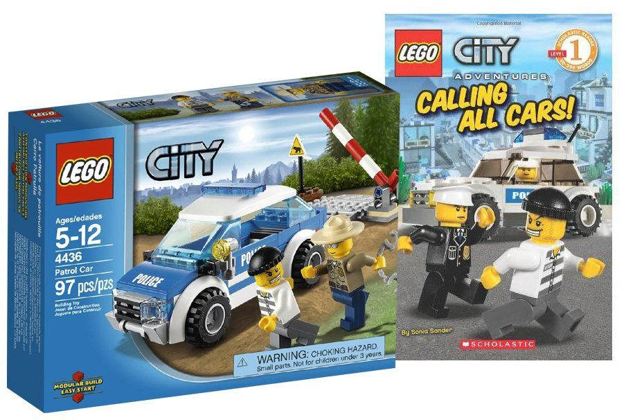 LEGO City: Calling All Cars Book+Toy