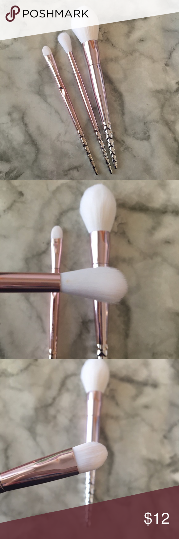 Wet n Wild rose Gold Brushes Never used, have been washed